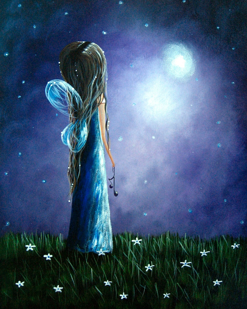 LIMITED EDITION PRINT fairy art prints original angel image 0