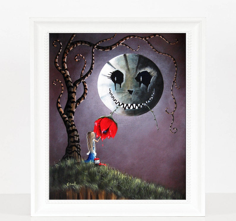 LIMITED EDITION PRINT  Erback  Alice In Wonderland  Only 3 image 0