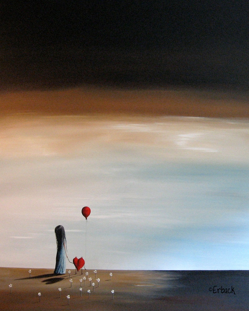 surreal art prints surrealism art print from painting image 0