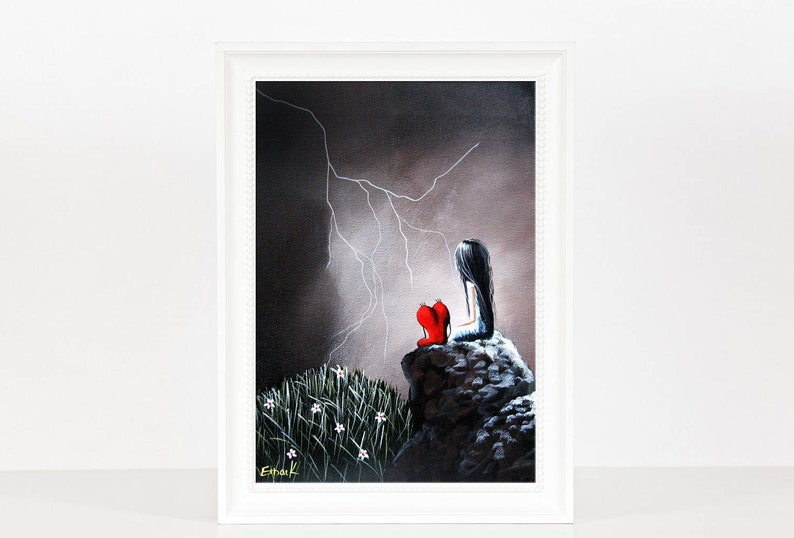 LAST SIGNED PRINT  A Spark Of Light  Limited Edition Print  image 0