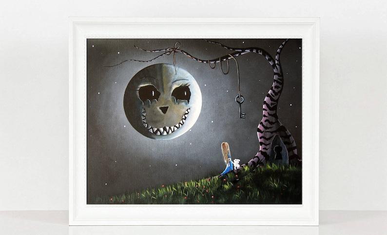 alice in wonderland wonderland art art prints wall art image 0