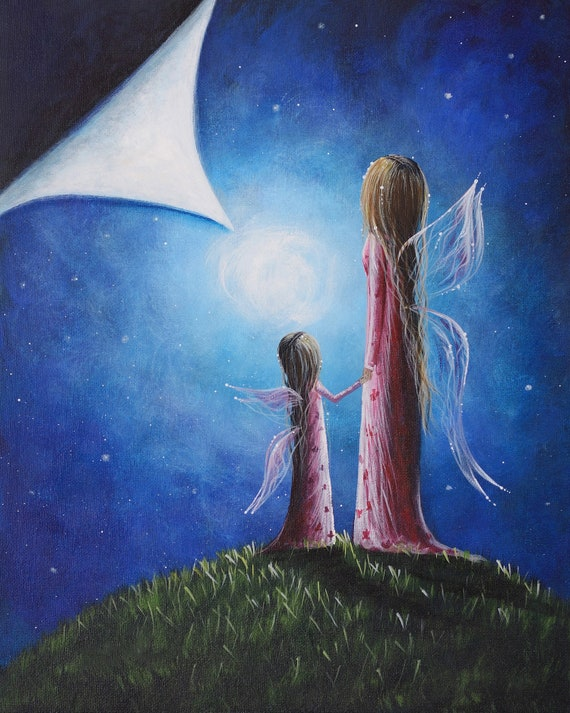 Canvas Art Print Fairy Art Print Canvas Art Fairy Themes Fantasy Fairies Best Seller Erback 11x14 Canvas Fairy Wall Art Dreamscape