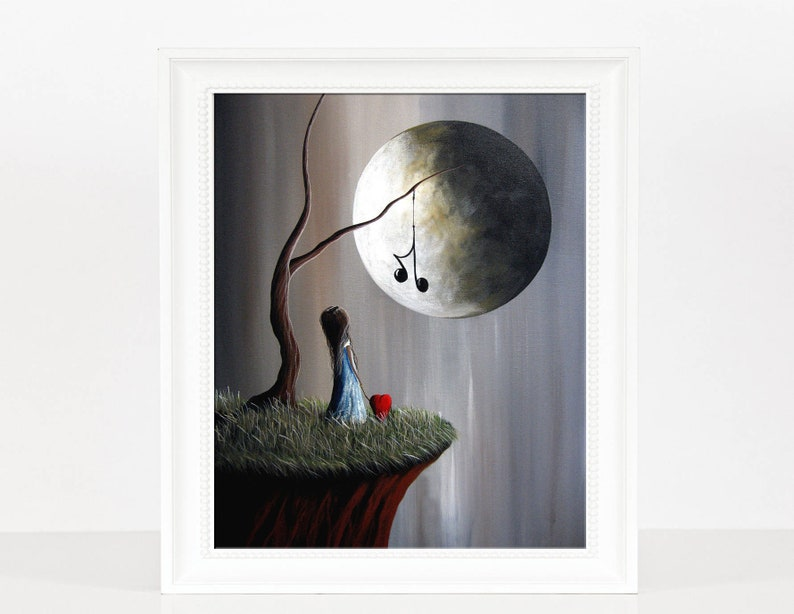 LAST SIGNED PRINT  Tree Of Promise  Music Lover Gift  image 0