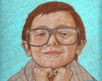 Custom Portrait Painting from Photo By Bret Pendlebury Commission Art Original Artwork Illustration Paint Artwork Request Gift Portraits