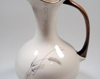 Taylor Smith Taylor Taylorton Silver Wheat carafe