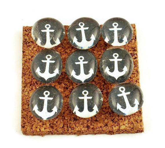 Funky Push Pins Memo Board Pins Nautical Bulletin Board Pins Etsy Enchanting Funky Memo Boards