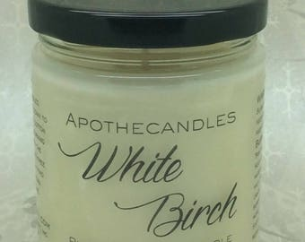 White Birch Pure Soy Wax Candle