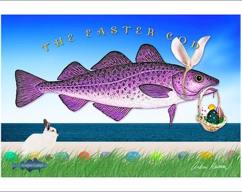 The Easter Cod (greeting cod)