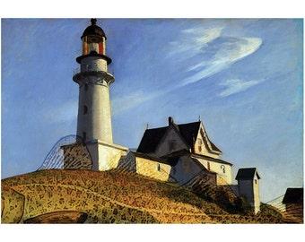 Lighthouse on the Cod (frameable art cod)