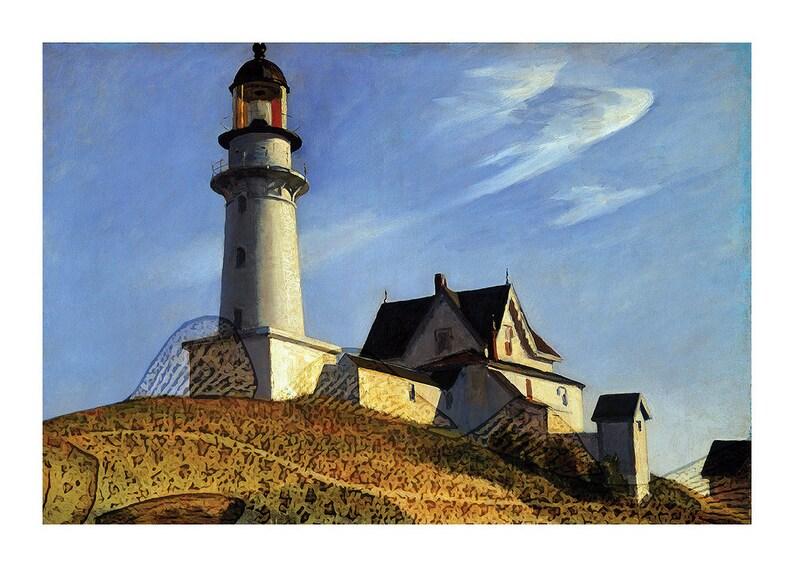 Lighthouse on the Cod frameable art cod image 0