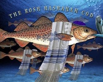 The Rosh Hashanah Cod (greeting cod)