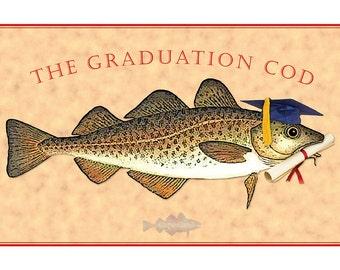 The Graduation Cod graduation card