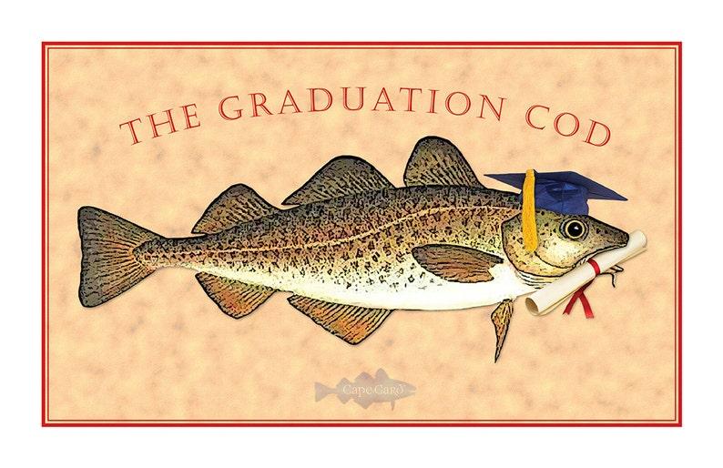 The Graduation Cod graduation card image 0