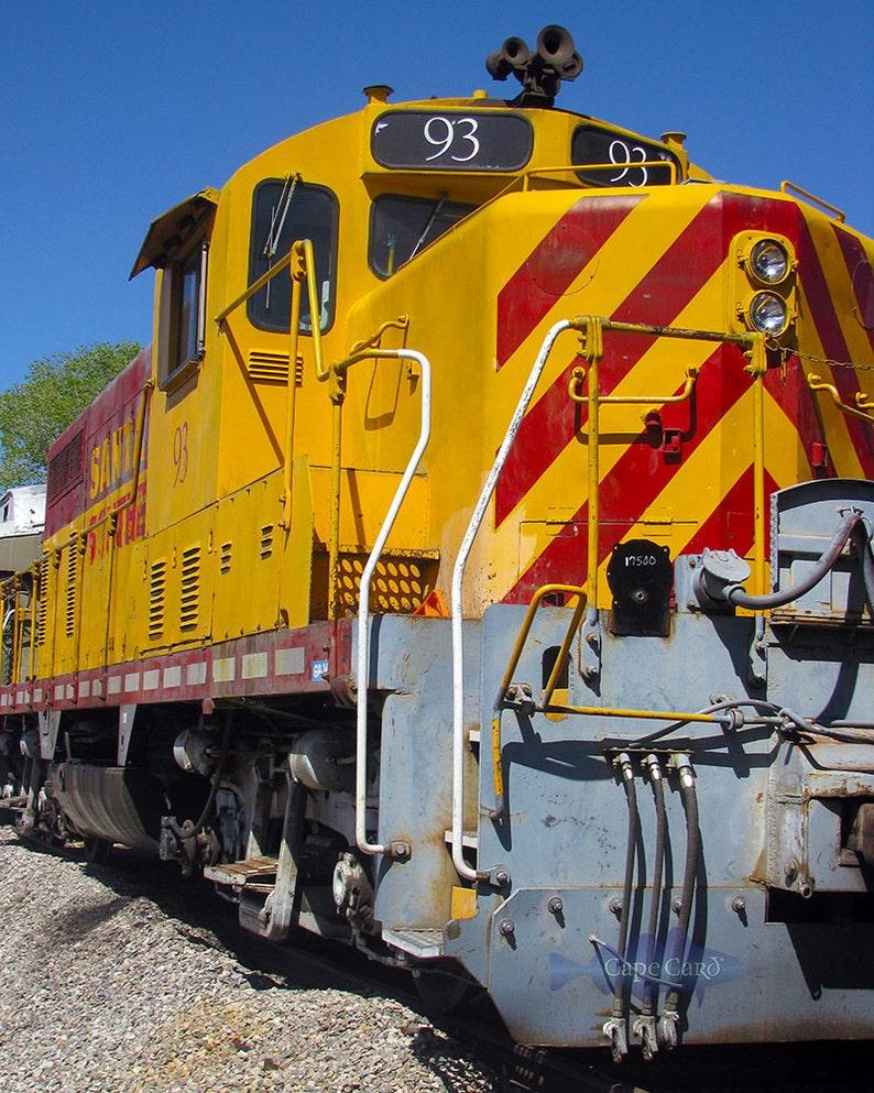 Santa Fe Southern Railroad No. 93 giclee print image 0