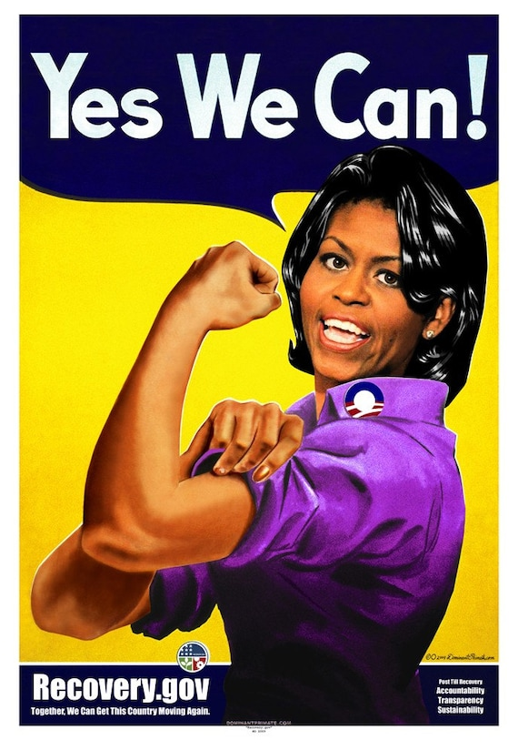 Title Recovery Gov First Lady Michelle Obama As Etsy