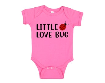 Little Love Bug Ladybug onesie