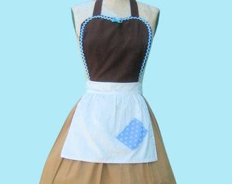 CINDERELLA apron, Cinderella Work APRON  Princess style  womens full Apron Cinderella costume