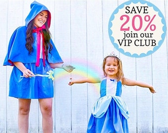 Fairy Godmother costume apron, Cinderella Fairy Godmother dress up apron, Fairy Godmother cape and apron, Cinderella Halloween costume