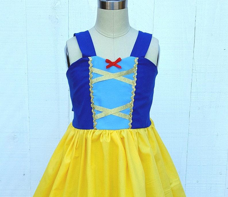 f1f6824ff5ea9 SNOW WHITE dress, vacation princess dress, summer princess dress, Snow  White costume, Toddler Snow White Dress, comfortable princess dress