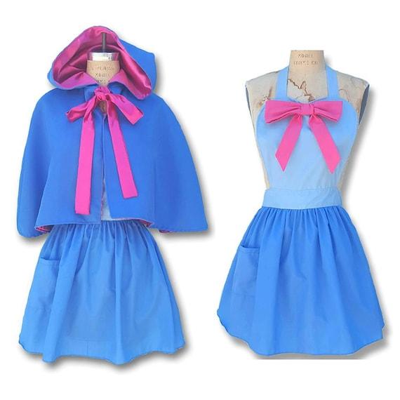 Fee Kostüm Schürze Cinderella Fee Kleid Schürze gute Fee   Etsy
