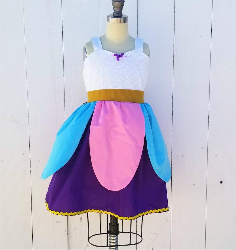 Mrs Potts Dress Beauty and the Beast dress Mrs Potts girls dress Beauty and the Beast costume Chip dress Mrs Potts costume Chip costume