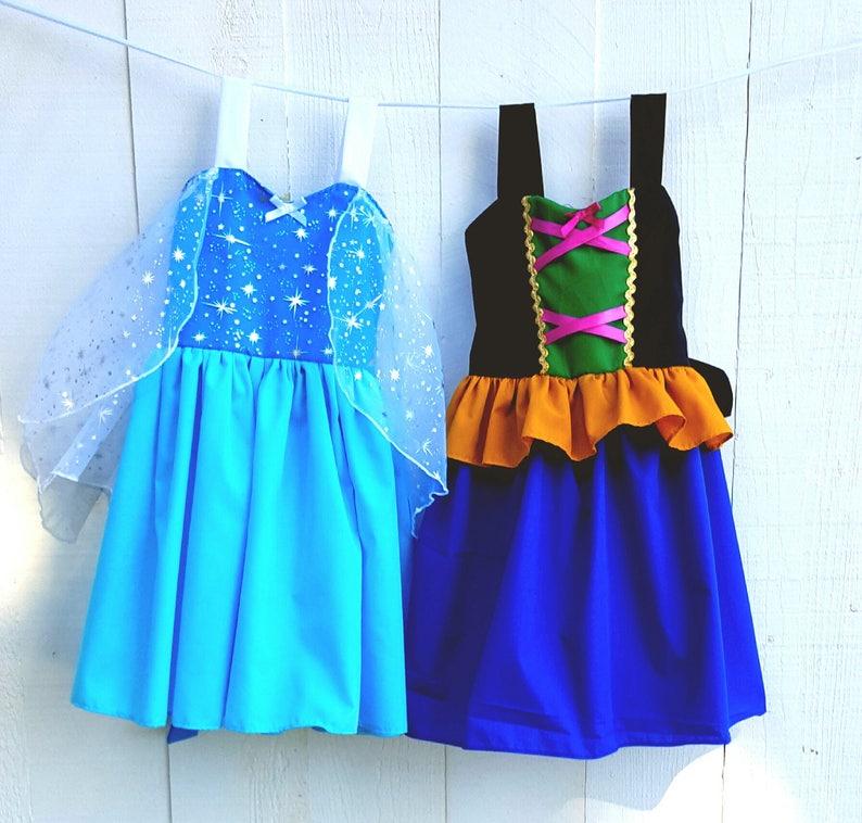 9d84c603c390 Elsa dress Anna dress princess dress Frozen dress | Etsy