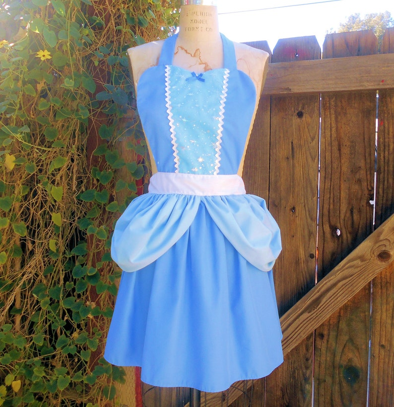 51bd691f302e CINDERELLA APRON Princess style womens full Apron from Lover