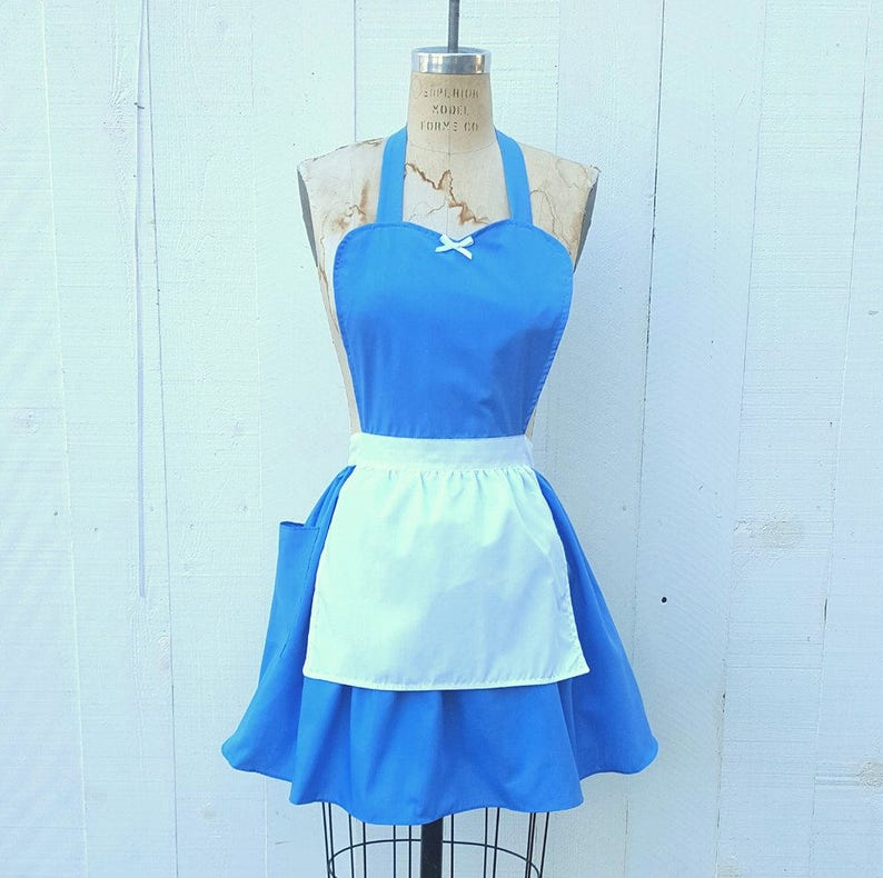 BELLE PROVINCIAL costume APRON womens full costume aprons