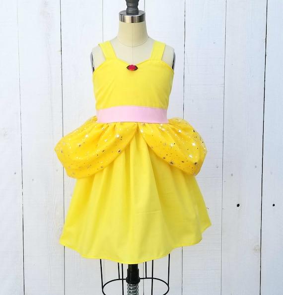 ffb0e3af916 BELLE Kleid Prinzessin BELLE funkeln Prinzessin Kleid