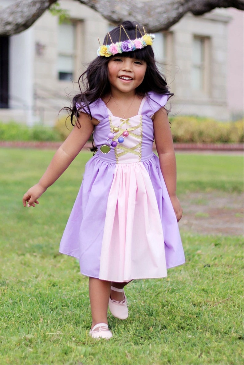 ae8822c93edf RAPUNZEL dress Rapunzel costume dress toddler girl dress | Etsy
