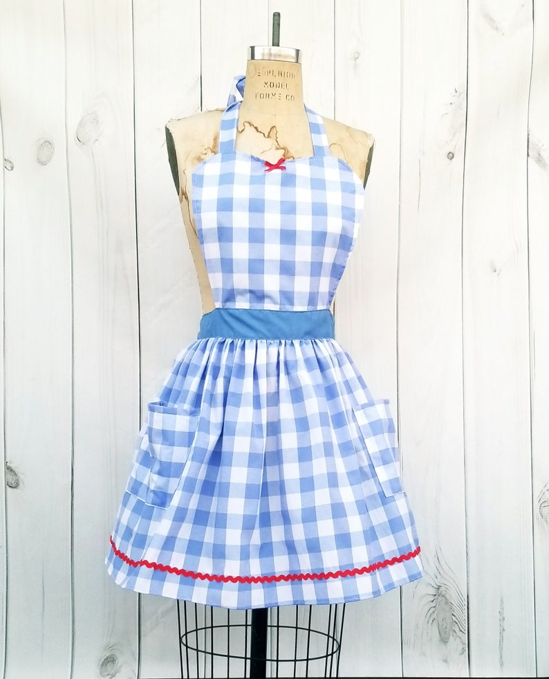 Dorothy costume womens womens Halloween costume apron sexy image 0