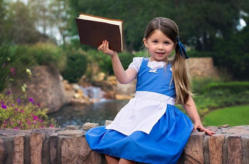 2bc8af33a BELLE dress blue Belle dress Belle Provincial dress Belle