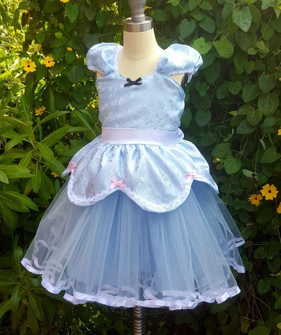 Princess dress toddler girl dress Cinderella costume Cinderella TUTU dress CINDERELLA  dress