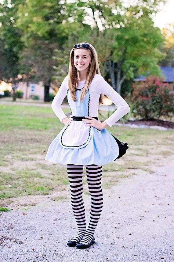 ALICE im Wunderland Kostüm Schürze Alice im Wunderland | Etsy