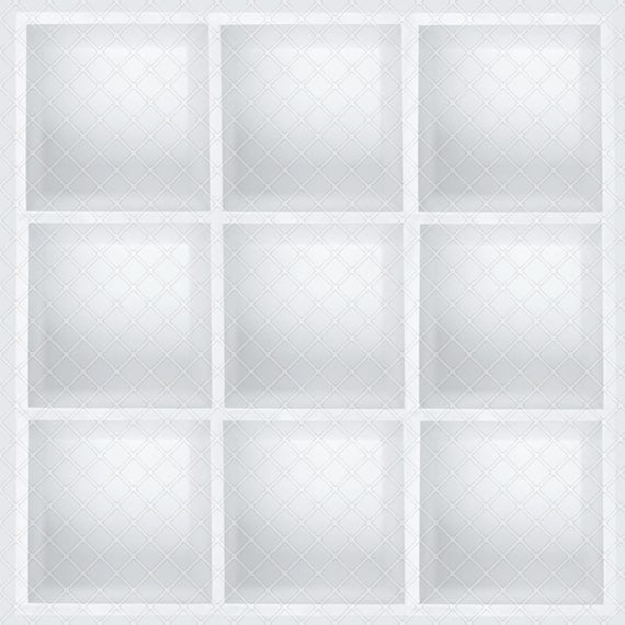 4 Pack Boxed In Digital Background Digital Backdrop Box Composite Cube Photo Background Single White Box Multiple White Boxes