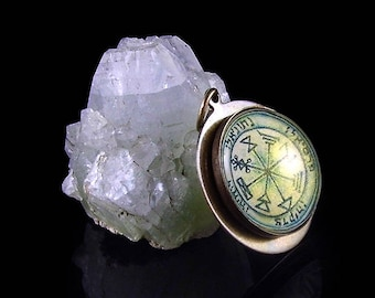 The 1st Pentacle of Jupiter - A Talisman For Discovering Hidden Treasures