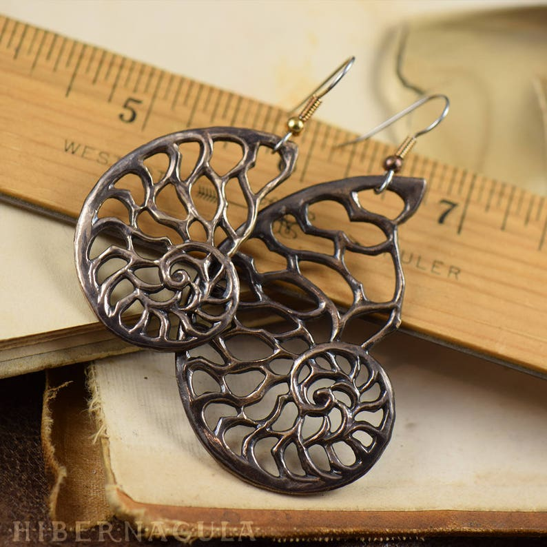 The Golden Spiral Fibanocci Squence Pendant 1-1-2-3-5-8-13