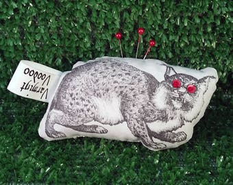 Varmint Voodoo - Bobcat Edition - Montana State Cats Edition - Montana College Sports - Safety - Voodoo doll - Novelty Gift - Woods Pooper