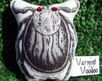 Varmint Voodoo - Tick Edition  -Supernatural Pest Control - Voodoo Doll - Novelty Gift - Pet Lovers Gift - Lyme - Hiker