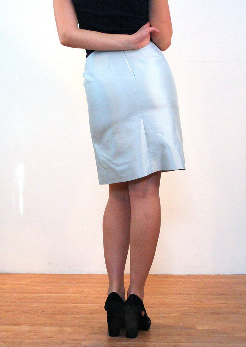 Strong-Willed Beautiful Vintage Krizia Silk Mini Skirt Elegant In Smell Clothing, Shoes & Accessories