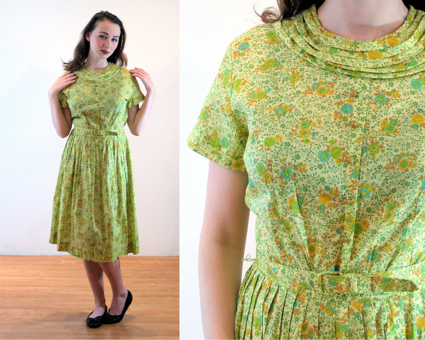 95b91729a69 Olive Green Short Sleeve Dress - Aztec Stone and Reclamations