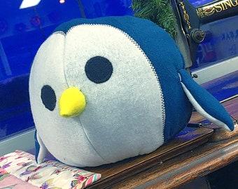 Chonky Penguin Plushie Pattern:  PDF Pattern & Tutorial