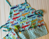 Kids-Aprons-Planes-Aviation-Chef-Art-Cooking-Kitchen-Baking-Play-Dough-Summer-Garden-Back-To-School-Smocks-Holiday-Birthday-Toddler-Gifts