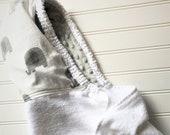 Baby Hooded Towels-Girls-Boy-Towel-Elephants-Gray-Cotton-Muslin-Hood-Beach-Swim-Bath-Kids-Terry-Cloth-Cover Up-Wash-Cloth-Gift Set-Options