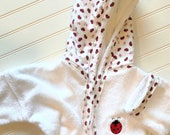 EMBROIDERY-Robes-Girls-Bathrobe-Ladybugs-Hooded-Beach-Towels-Swimwear-Spa-Party-Terry-Swim-Suit-Cover-Up-Baby-Kids-Birthday-Holiday-Gifts
