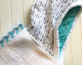 Baby Hooded Towels-Boys-Arrows-Cotton-Muslin-Hood-Beach-Swim-Bath-Kids-Terry-Cloth-Cover Up-Wash-Cloth-Gift Set-Options