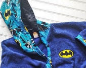 Personalized-Boys-Bath-Robes-Bathrobes-Super-Hero-Kids-Batman-Beach-Hooded-Towels-Swimwear-Terry-Beach-Cover-Up-Baby-Toddler-Kids-Teen-Gifts