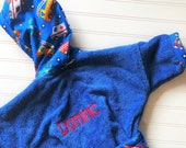 Boys-Bath-Robes-Boy-Robe-Bathrobes-Fire-Trucks-Children-Spa-Beach-Hooded-Swim-Suit-Terry-Cover-Up-Baby-Toddler-Kids-Birthday-Holiday-Gift