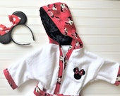 Personalized-Girls-Bath-Robe-Bathrobes-Hooded-Towels-Red-Minnie-Mouse-Swimwear-Terry-Beach-Cover-Up-Baby-Toddler-Birthday-Holiday-Kids-Gift