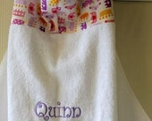 Baby-Hooded-Towels-Girls-Girl-Bath-Towel-Lavender-Princess-Pink-Crowns-Minky Dot-Beach-Pool-Terry-Swim-Suit-Cover-Up-Gift-Set-Options